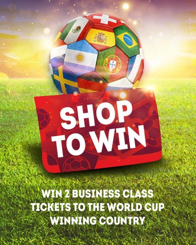 Shop to win with Qatar Duty Free's World Cup competition