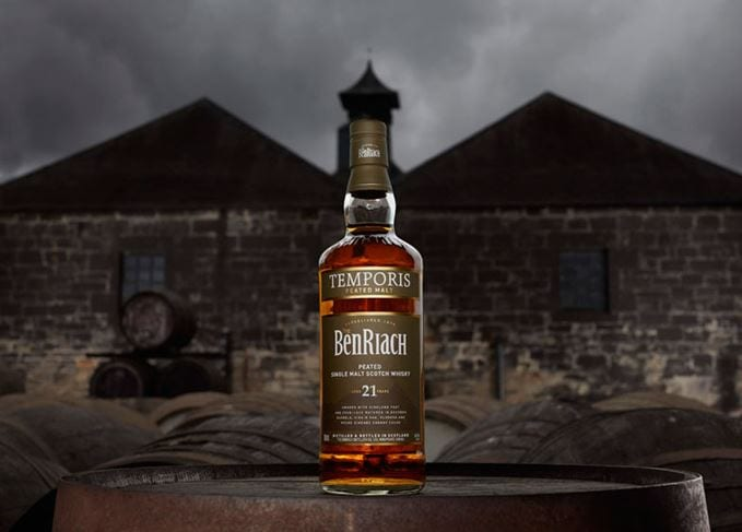 BenRiach adds to its peated malts with 21 Year Old Temporis