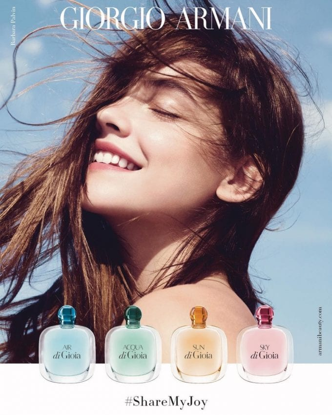 Armani shares the joy with new Gioia fragrance campaign