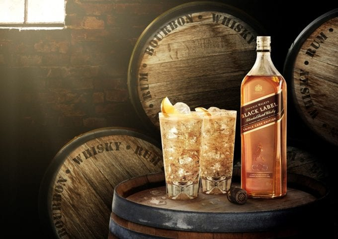 Limited Edition Johnnie Walker Black Label Triple Cask Edition launches exclusively in Dufry duty-free stores