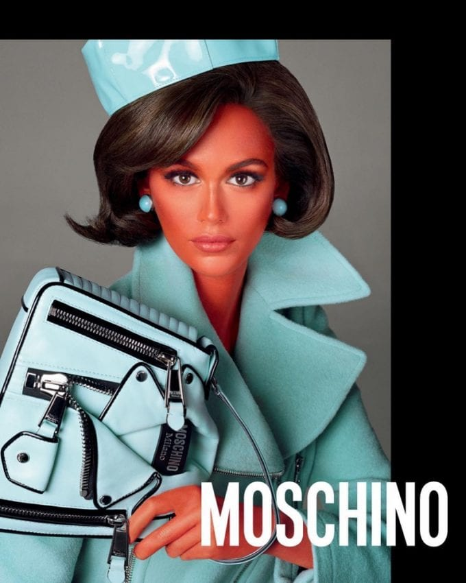 Kaia Gerber & Gigi Hadid turn alien in controversial Moschino campaign
