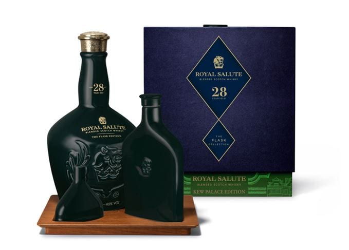 Royal Salute adds 28-year-old Kew Palace Limited Edition to Flask Collection