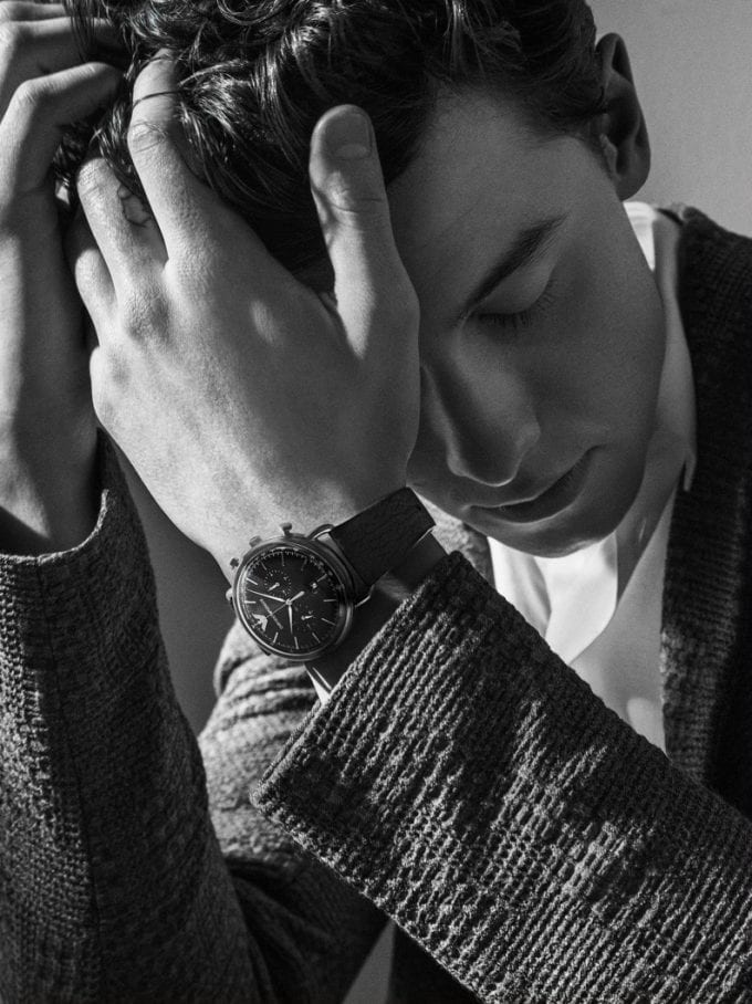 Shawn Mendes on time for Emporio Armani's latest watch collection
