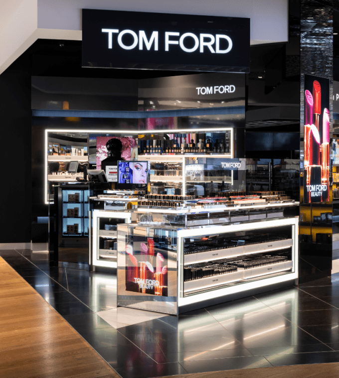 Tom Ford debuts beauty boutique concept at London Heathrow T3
