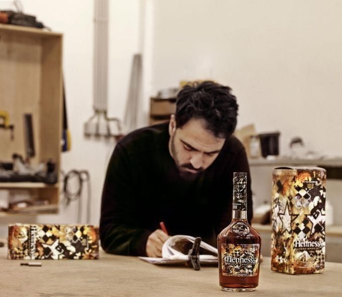 Making The Invisible Visible: Hennessy partners with artist Vhils for 2018 Very Special Limited Edition