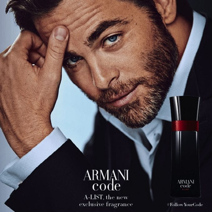 Take your place on the 'Armani List' – Limited edition Armani Code A-List fragrance launches