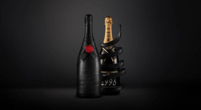 Fizz for Fed – Moët & Chandon celebrates Roger Federer's 20-year career with exclusive limited edition