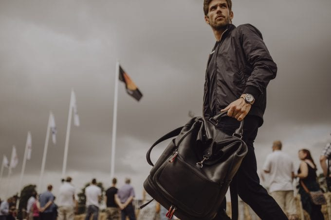 Racing through life with style: Montblanc introduces Urban Racing Spirit Leather Collection