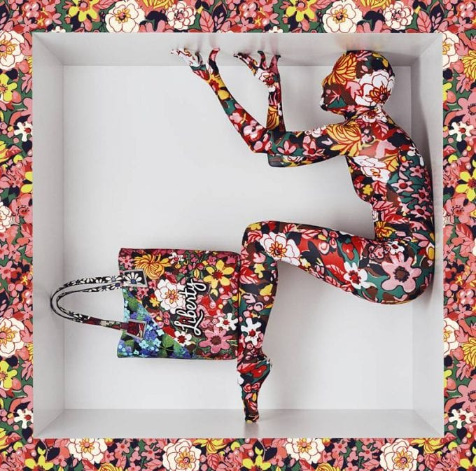 What a Liberty! Richard Quinn x Liberty accessories line is nearly here