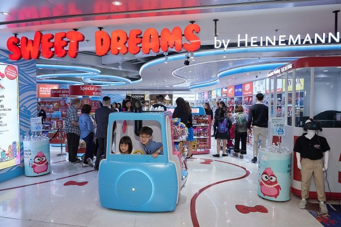 Sweet Dreams come true for travellers at Hong Kong International
