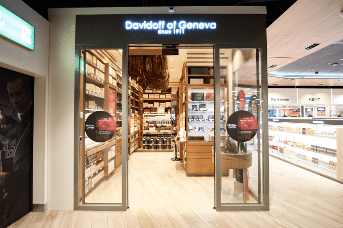 Davidoff opens stunning walk-in humidor at Zurich Airport