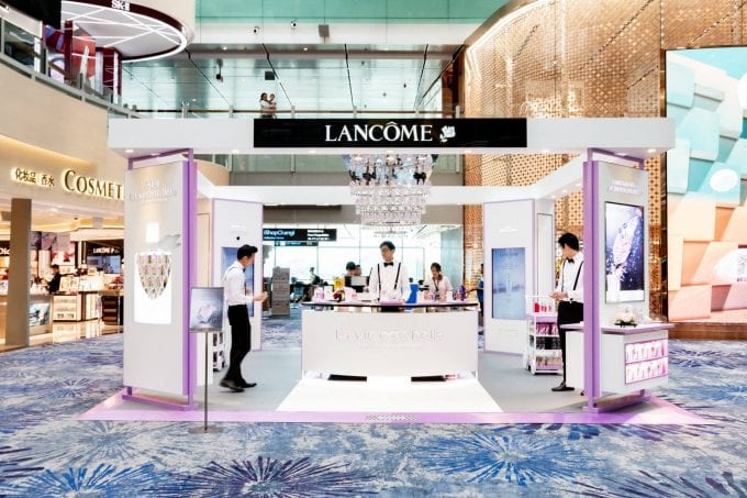 Be the first to discover the all-new Lancôme La Vie Est Belle at Singapore Changi Airport