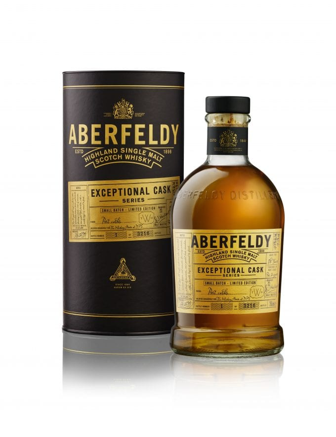 Rare Aberfeldy 1999 makes exclusive debut with DFS at Singapore Changi