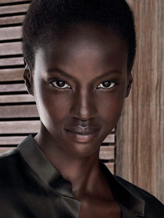 Sudanese model Anok Yai is the new face of Estée Lauder