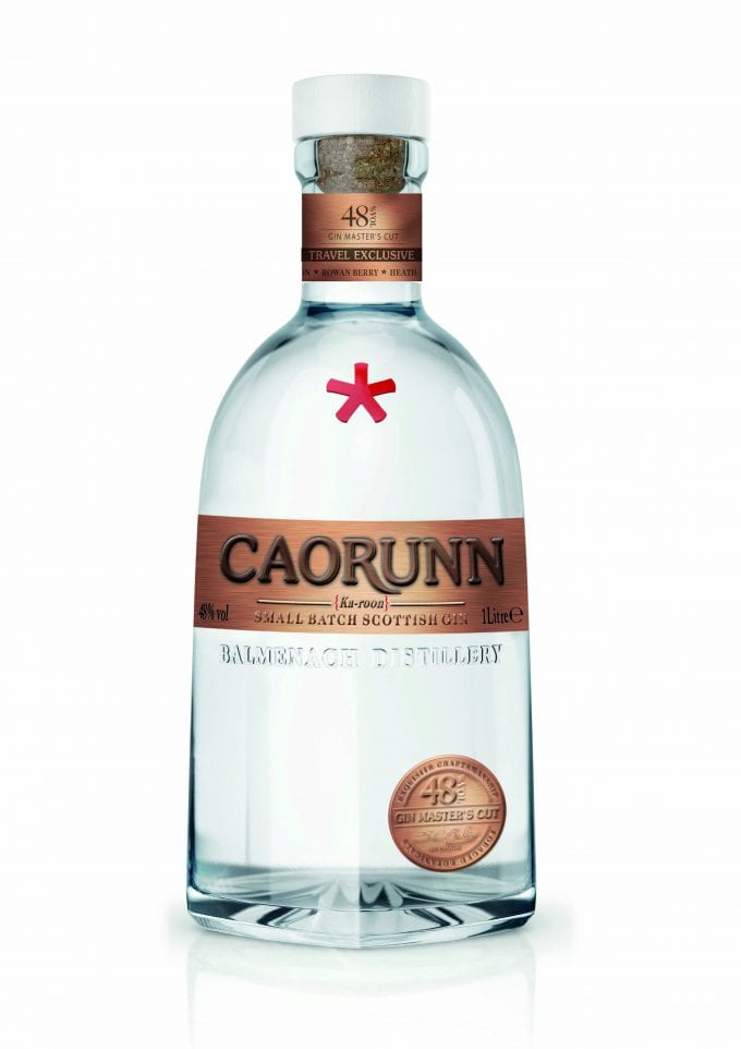 Caorunn Scottish Gin unveils 'Gin Master's Cut' exclusive edition for duty-free