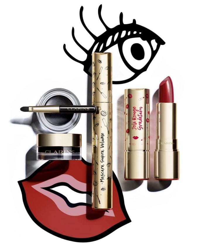 Get ready to fall for Clarins new Rouge et Noir makeup line