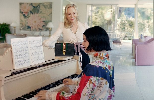 Gucci debut the Sylvie handbag with help from Faye Dunaway