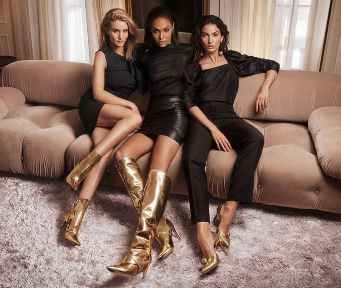 Jimmy Choo goes for Gold with new AW collection