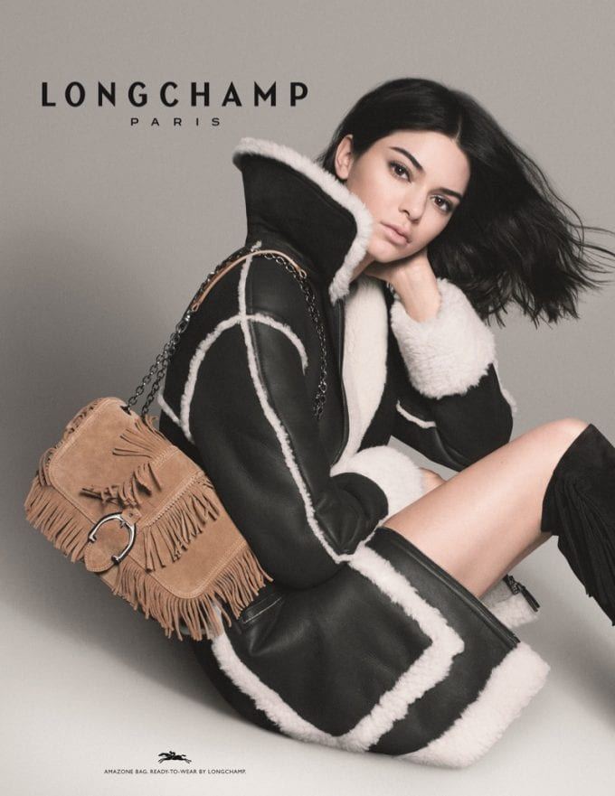 Kendall Jenner is Longchamp's 'Modern Amazon' in new campaign