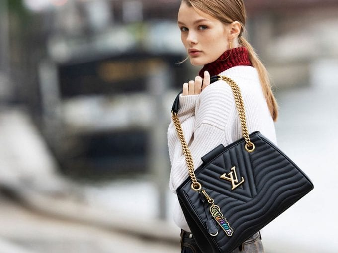 Louis Vuitton's New Wave city bags have arrived