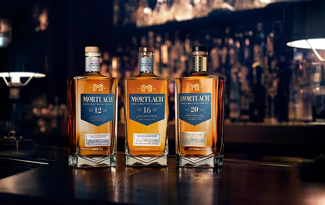Mortlach single malt unveils three new bottlings – a 12-year-old, 16-year-old and 20-year-old