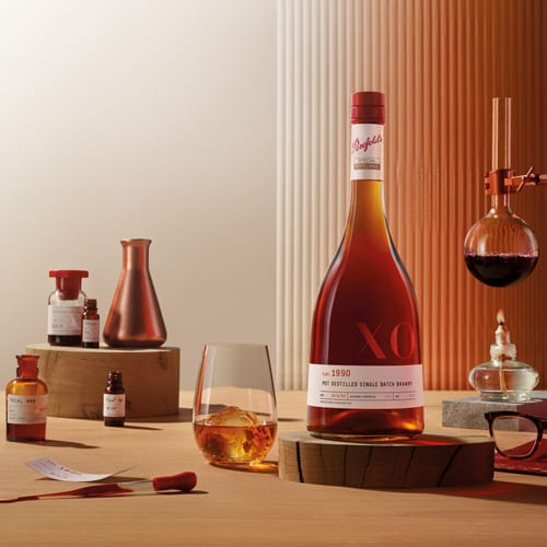 Penfolds unveils Lot. 1990 Pot Distilled Single Batch Brandy in duty-free