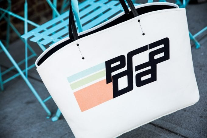 Prada goes graphic across new bag collection for Autumn