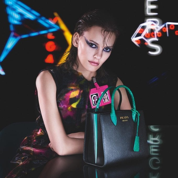 Prada lights up Las Vegas with Neon Dream