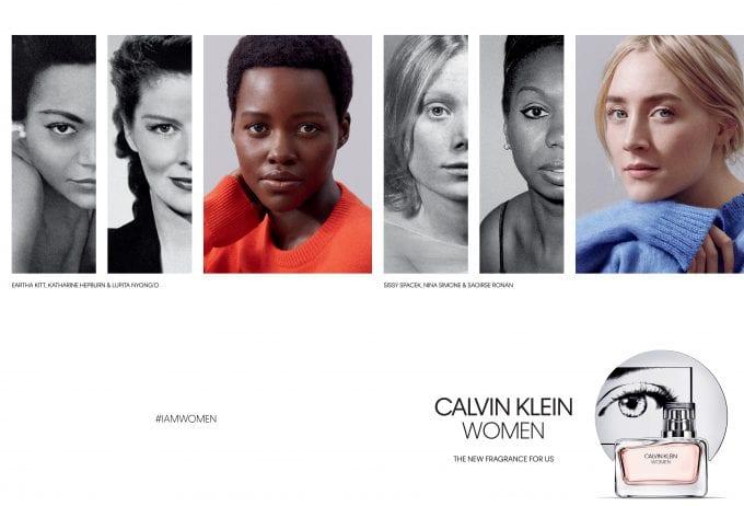 Calvin Klein WOMEN fragrance launches as a celebration of women, by women