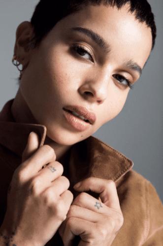 YSL announces Zoë Kravitz as the new face of Black Opium