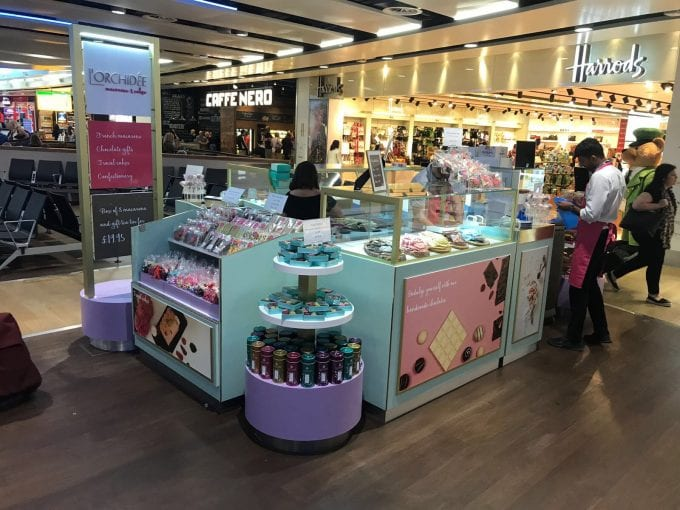 L'Orchidee debut makes London Heathrow T3 a bit sweeter