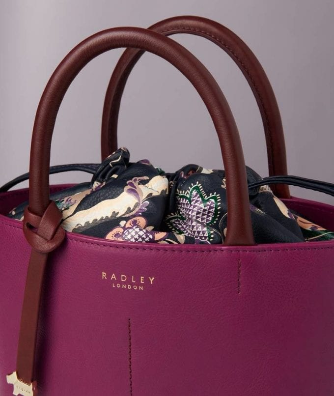 Radley London unveils collaboration with Sanderson