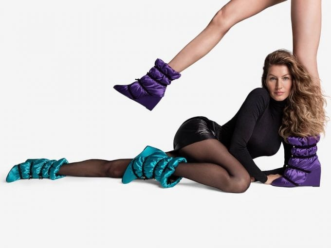 Gisele Bundchen & Doutzen Kroes leg it for new Stuart Weitzman collection