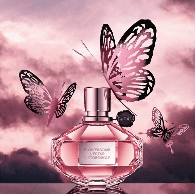 NEW Viktor & Rolf Flowerbomb Nectar debuts at The Loop Duty Free