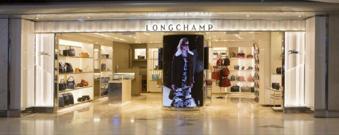 New Longchamp boutique opens at Hong Kong International Airport