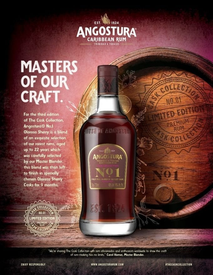 Angostura releases new Cask Collection Ultra-Premium Rum