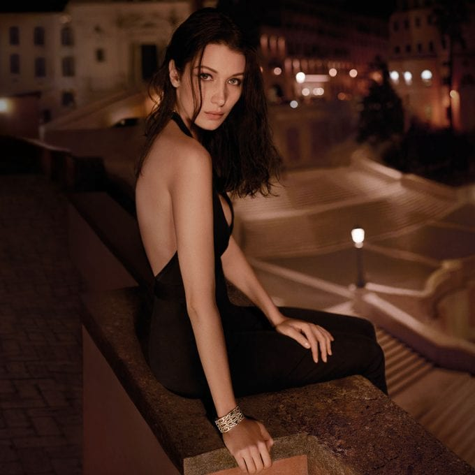 Bulgari (and Bella) reveal new Goldea Roman Night fragrance
