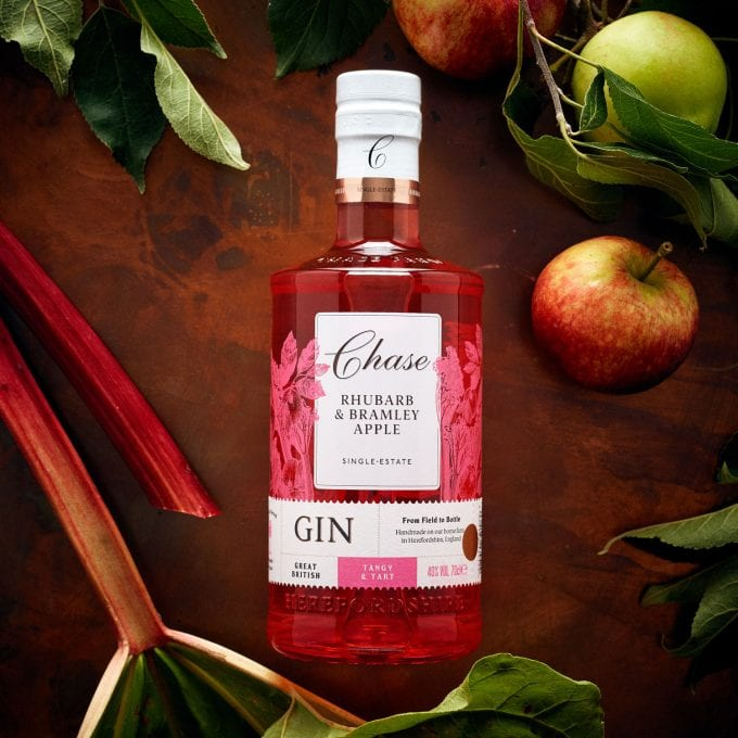 Yummy! Chase Distillery unveil Rhubarb & Bramley Apple Gin