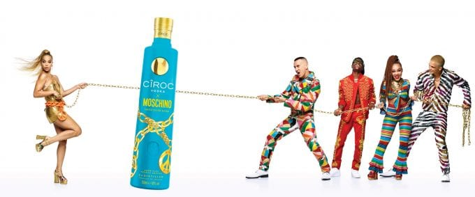 CÎROC luxury Vodka launches special edition collaboration with Moschino