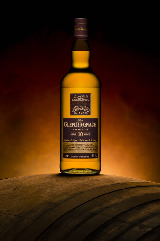 GlenDronach Distillery unveils duty-free exclusive Forgue 10 year old Single Malt