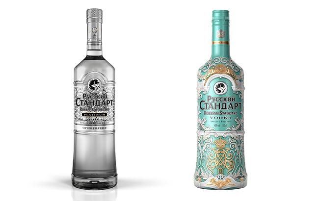 Russian Standard Vodka launches duty-free exclusive Winter Palace edition