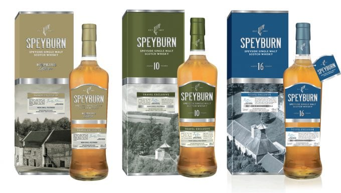 Speyburn releases new 16 Year Old expression as duty-free exclusive