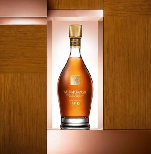 Glenmorangie releases Grand Vintage 1993 as duty-free exclusive