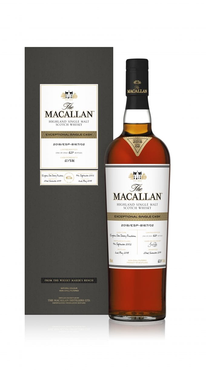 The Macallan unveils Exceptional Single Cask range with very limited release in duty-free stores
