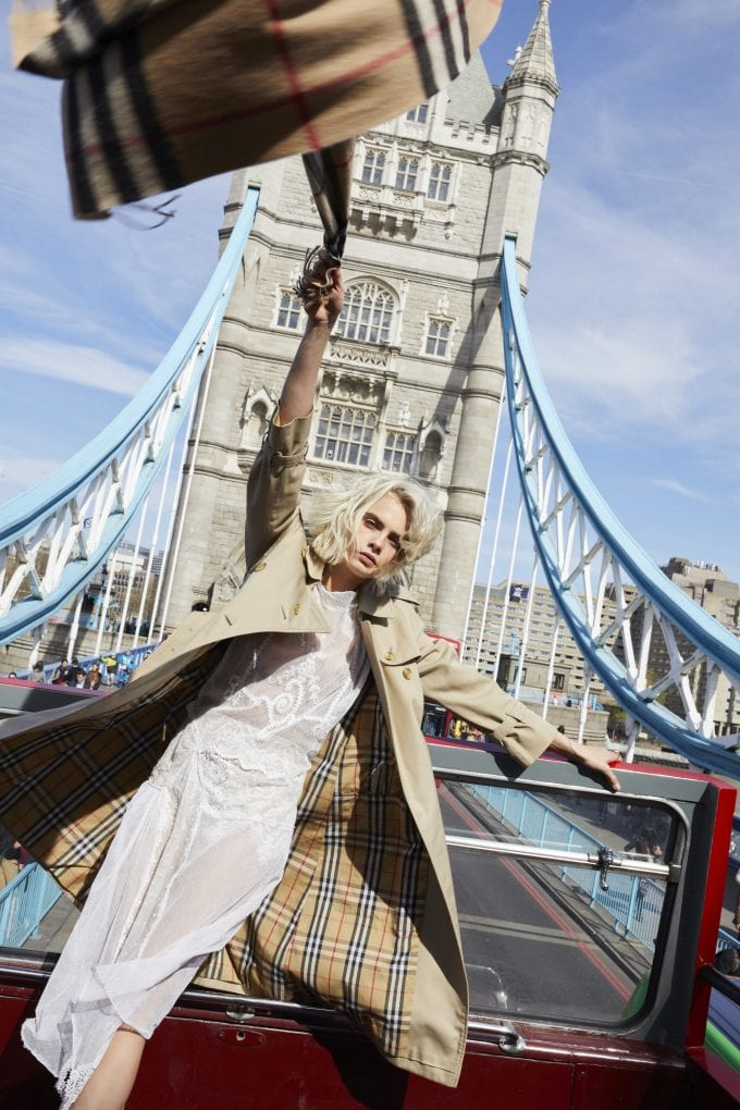 Burberry launches Her – a new fragrance fronted by a Londoner called Cara