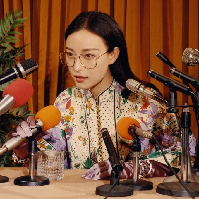 Gucci and Ni Ni take questions in new Eyewear campaign