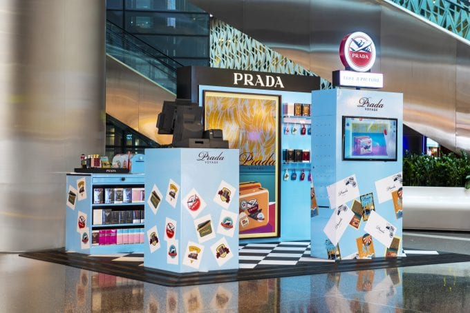 Experience the Prada way of travelling at Qatar Duty Free