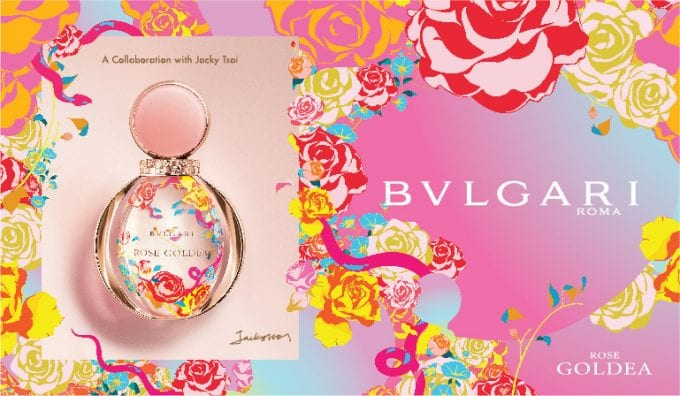 Bulgari unveils Rose Goldea Special Edition by artist Jacky Tsai