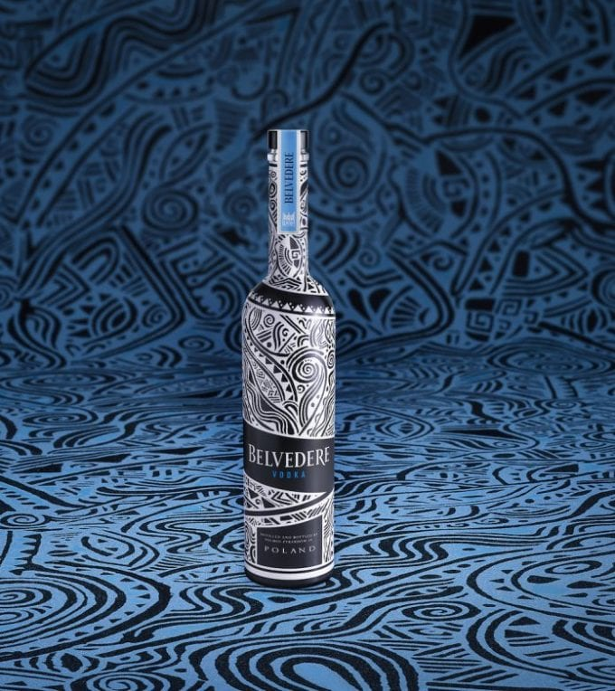 Belvedere Vodka unveils Limited Edition bottle designed by Laolu Senbanjo