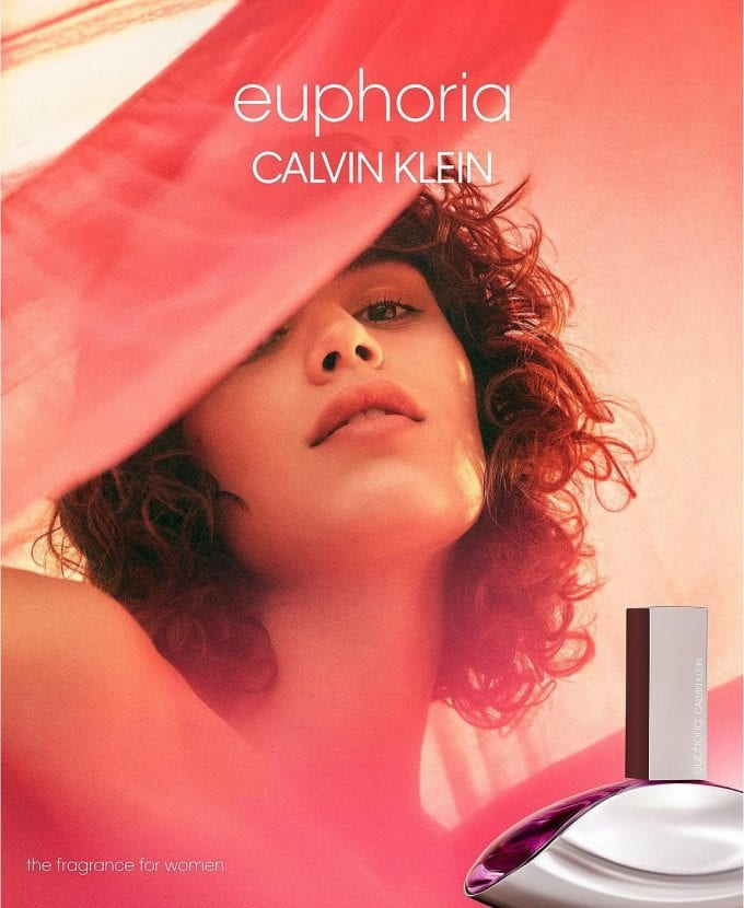 Calvin Klein reveals new Euphoria campaign with Mica Argañaraz